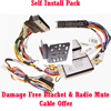 Bury Installation Premium Install Pack [Radio mute lead, Damage free bracket +]